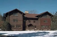 Supervisor's HQ in the Chippewa National Forest