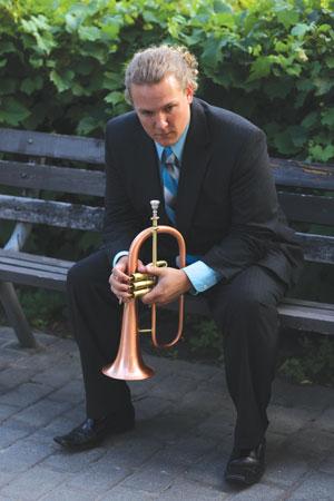 Trumpeter Adam Meckler