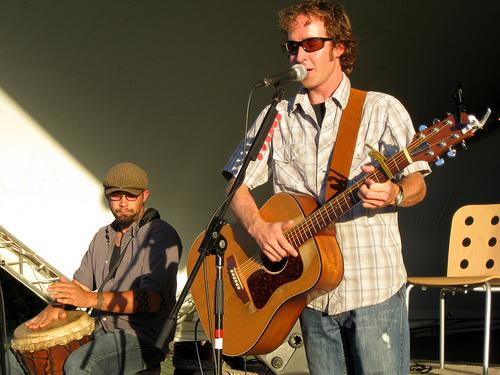Bemidji Musicians Lance Benson and Mark Bauer