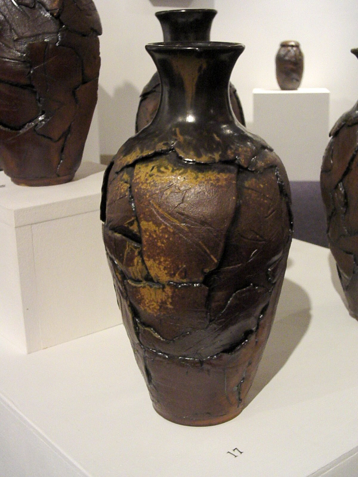 Roald Molberg creates pottery from the inside out