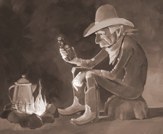 "Mick Reasor's ""Book of Cowboy Job"""