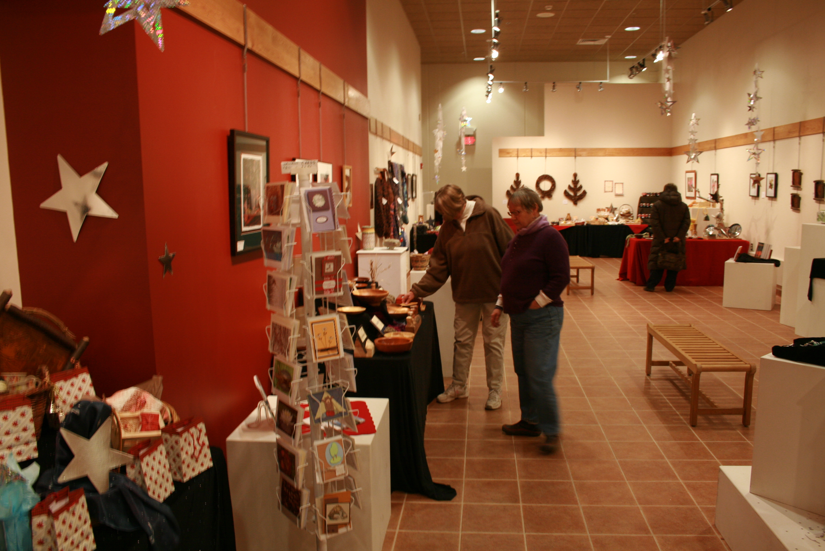 Edge Center in Bigfork offers holiday wares, concert