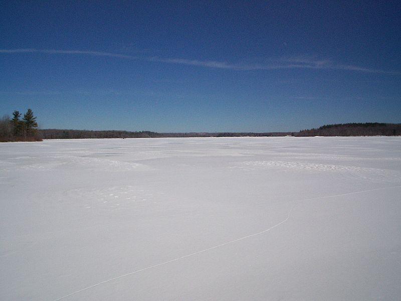 January Brings Rain, Snow and Freezing Lakes