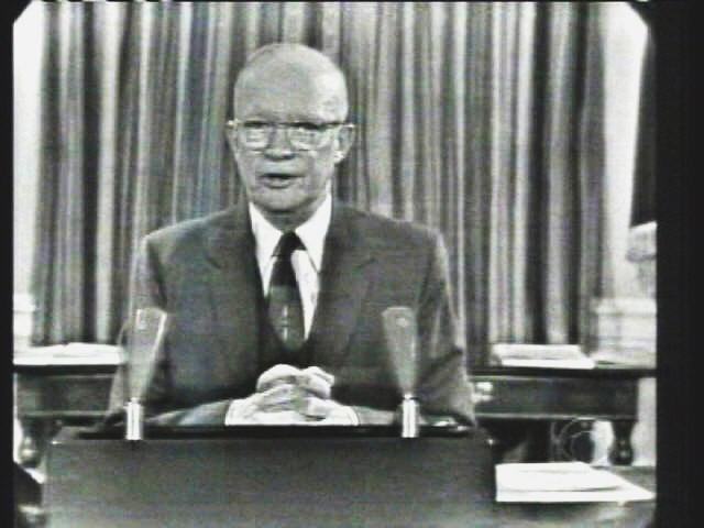 Malcom Moos and Ike's Farewell Address