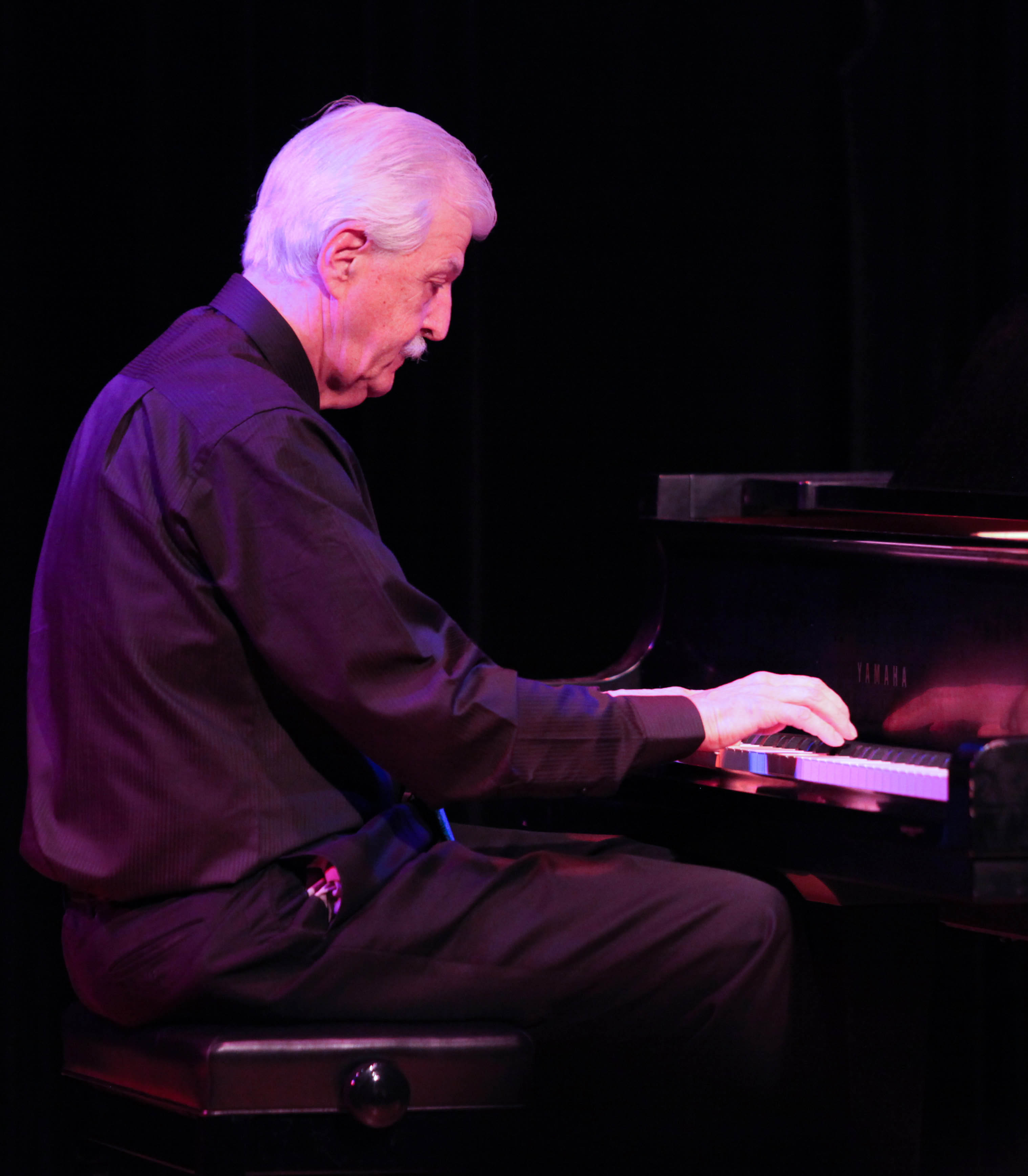 Jimmy Yancey's blues piano styling as performed by Butch Thompson.