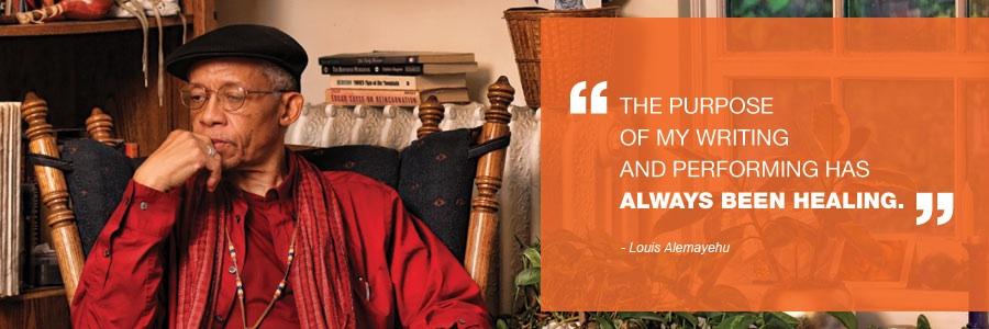 Louis Alemayehu: Poet, Musician, Community Elder