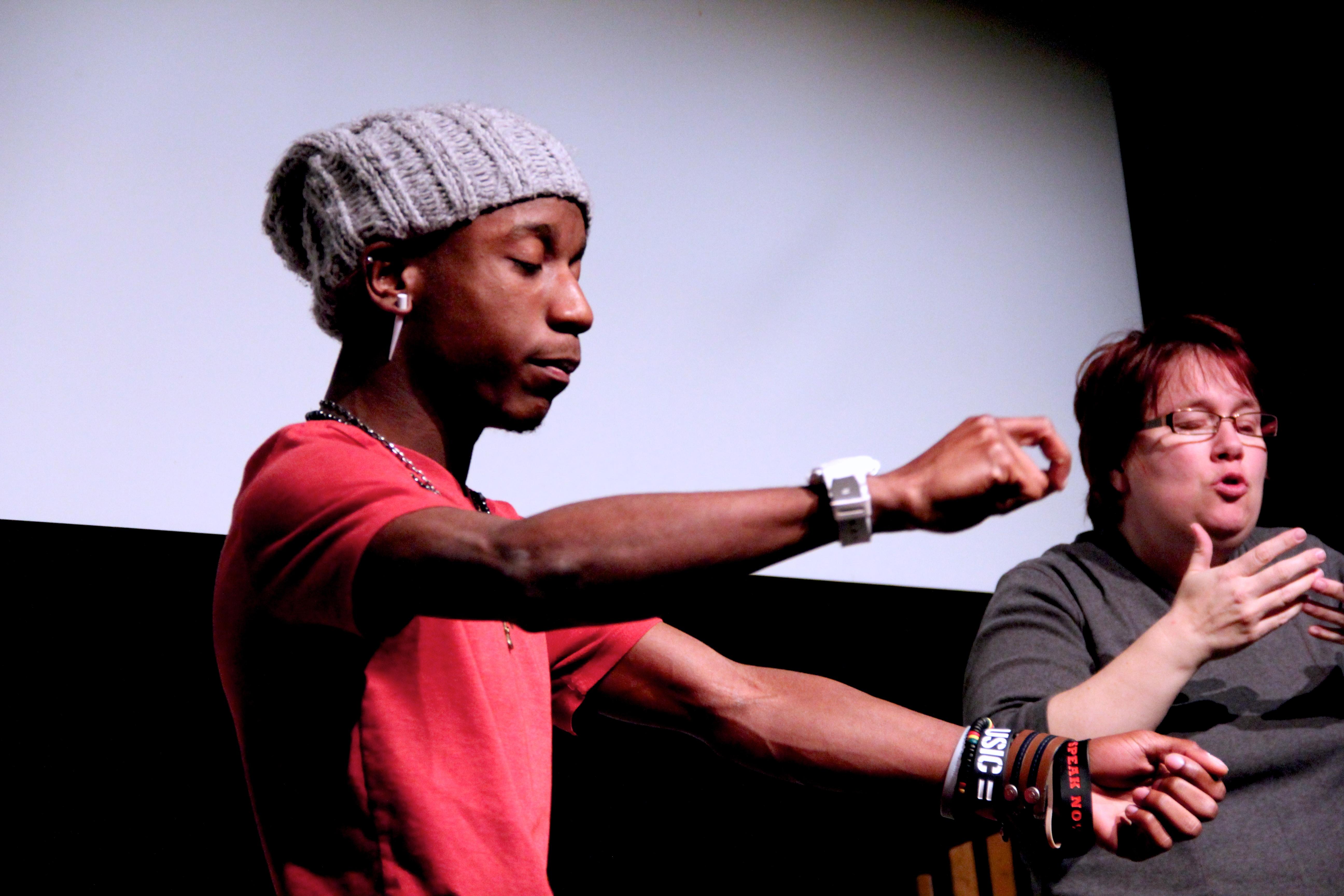 Quest for the Voice: marathon poetry slam