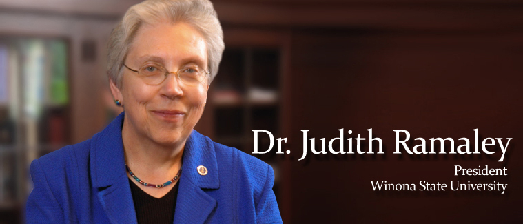 Teach 21 with Winona State University President Dr. Judith Ramaley
