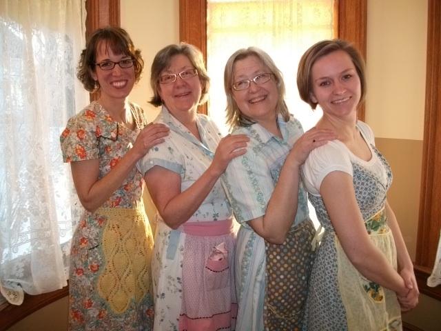The Rhubarb Sisters at the Rhubarb Festival!