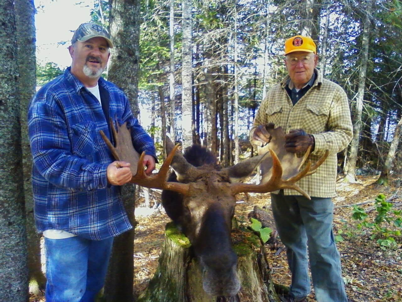 After 40-Year Wait, Octogenarian Gets A Moose License