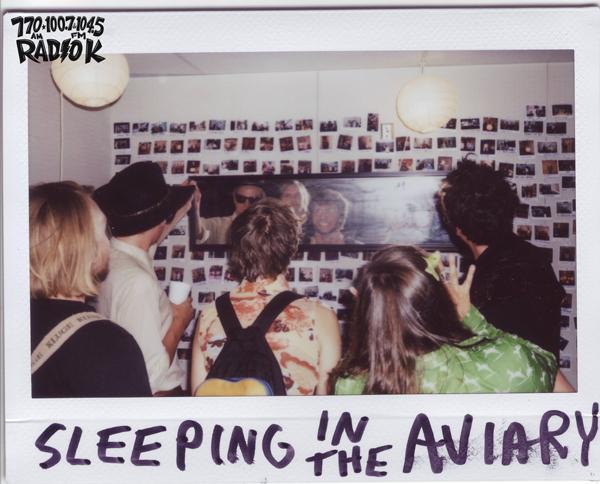 Sleeping in the Aviary