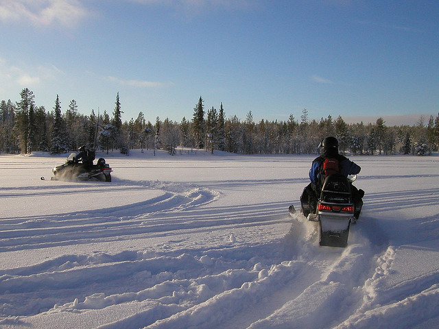 On Snowmobiles and Happiness