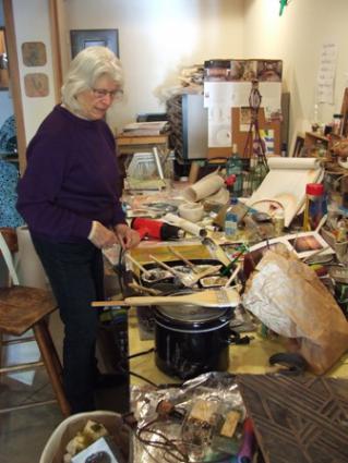 Nancy Daley, Encaustic Artist