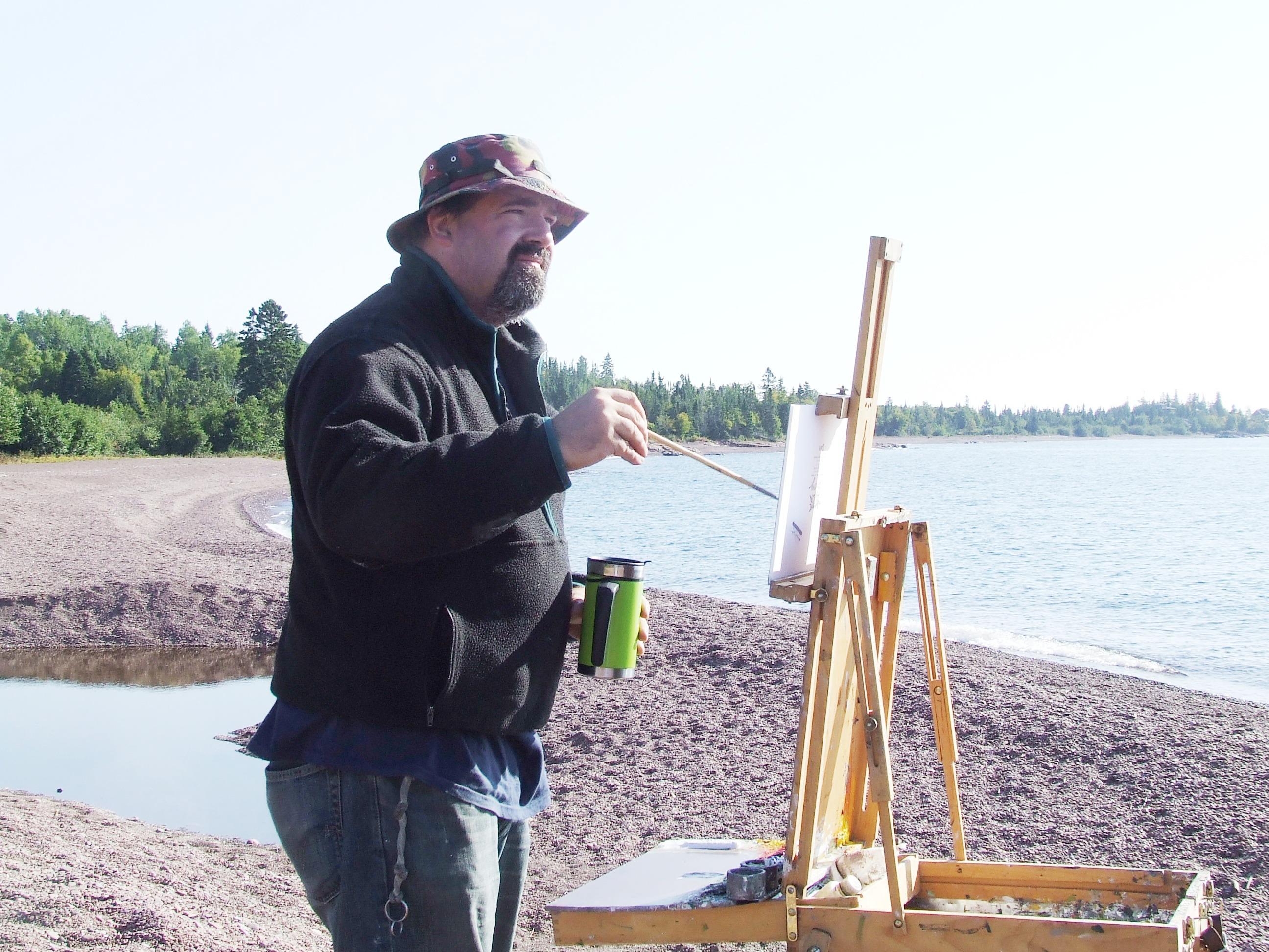 Neil Sherman, plein aire painter