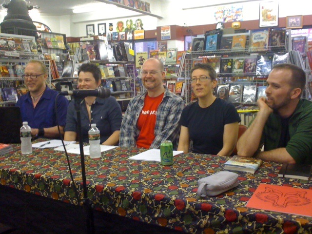 Symbolical Head storytelling event and panel discussion