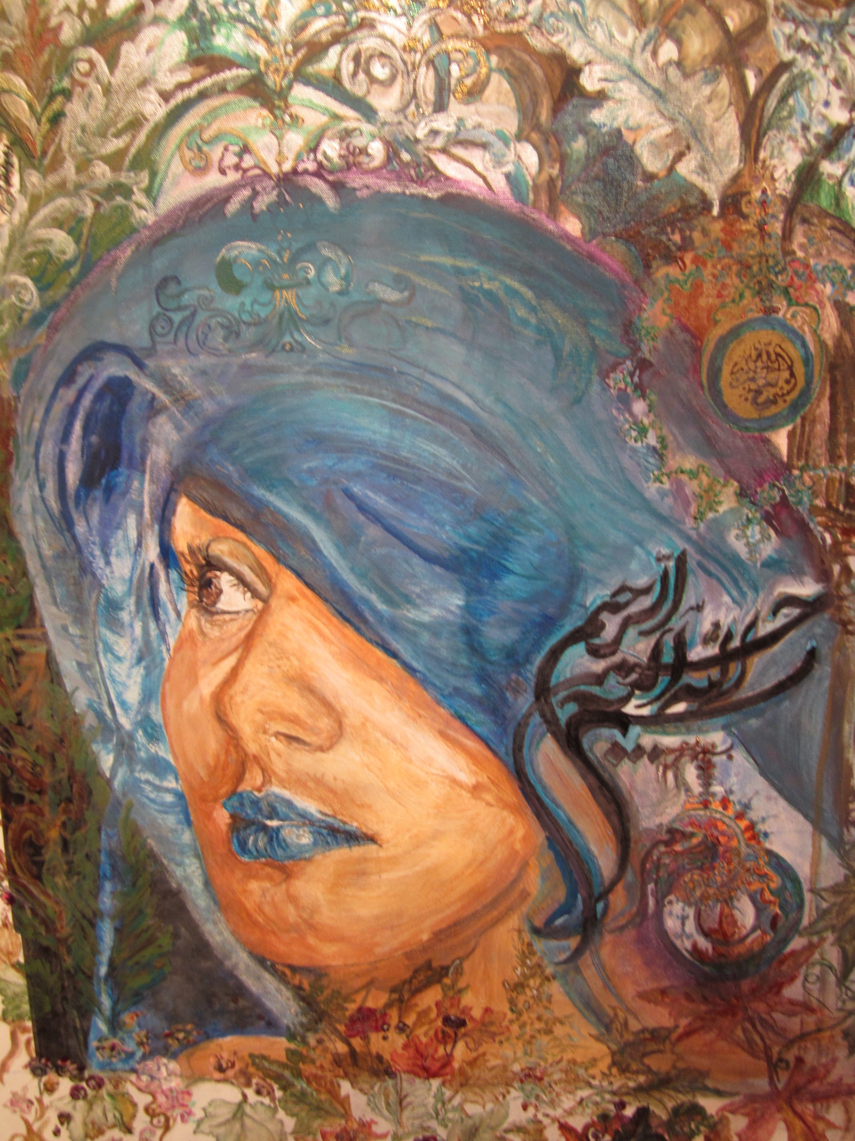Artists' work reflects the Great Mothers of Islam