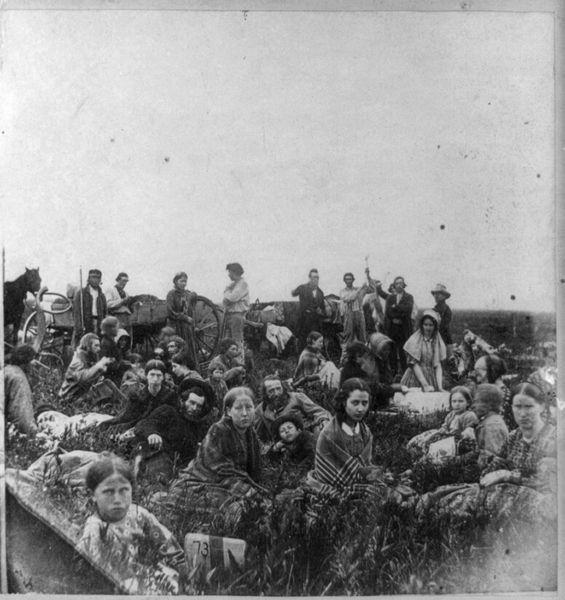 The Dakota War of 1862: Sea of Immigrants