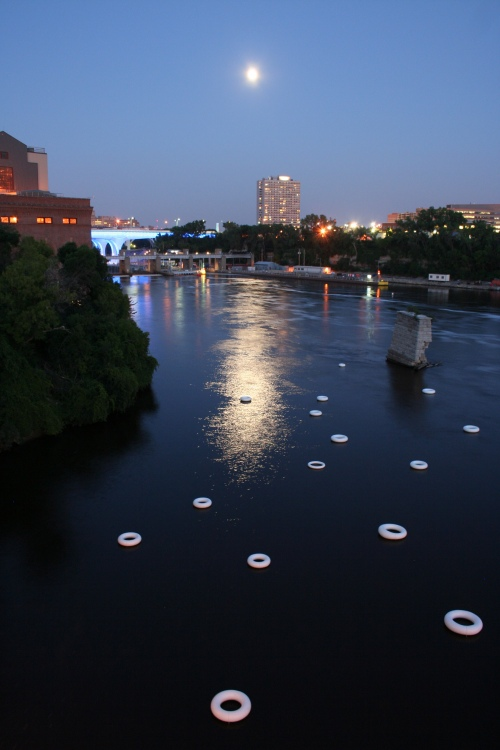 Artists Todd Boss & Maja Spasova collaborate to mark the 35W bridge collapse