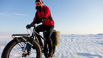 Not your ordinary bike trip…this one's to the South Pole