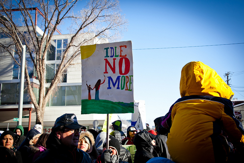Duluth organizer Reyna Crow on Idle No More movement