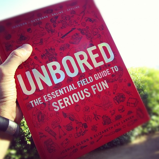 "Cool new book for kids and their grownups: ""Unbored"""