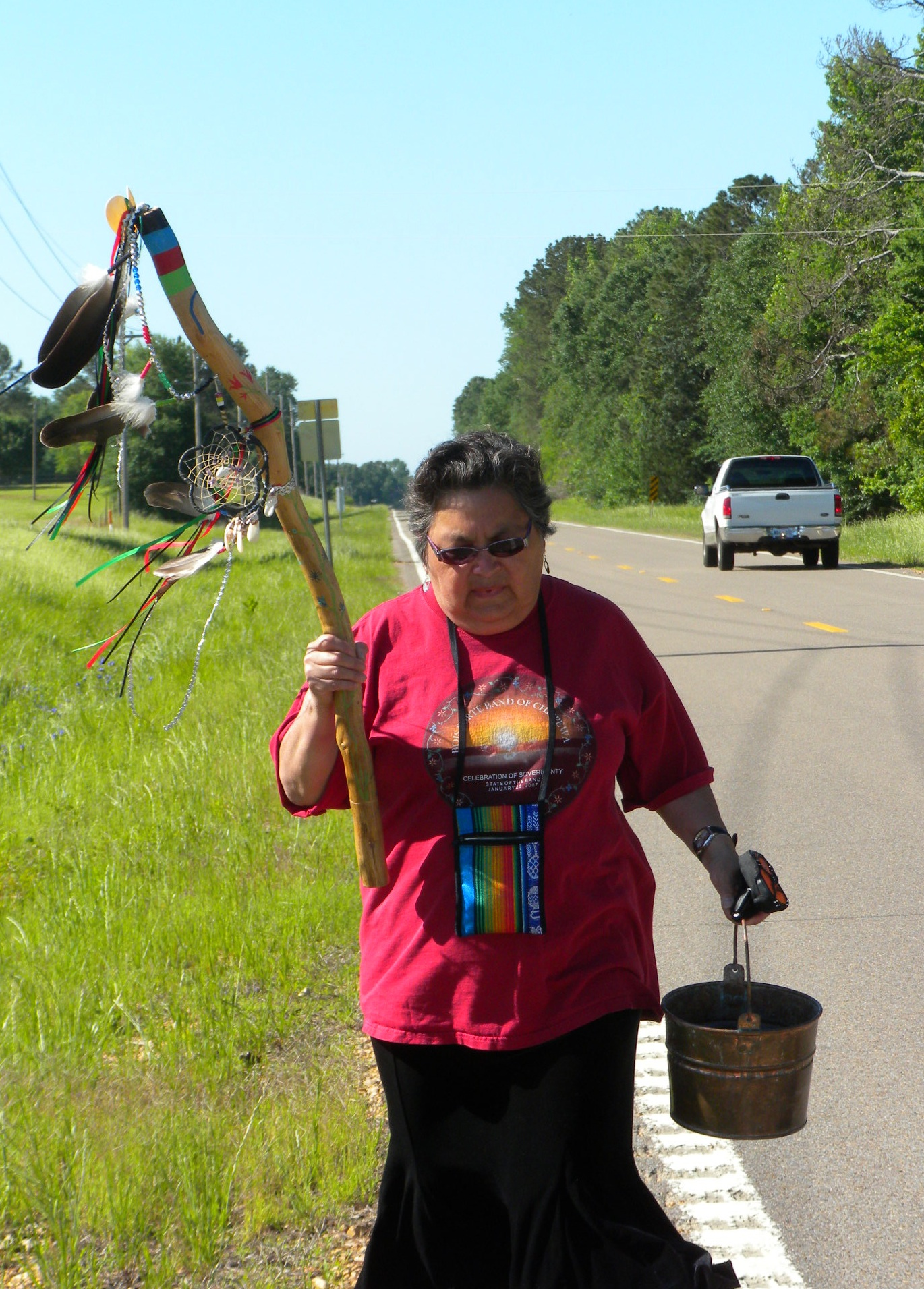 Ojibwe Elder Sharon Day and the Mother Earth Water Walkers