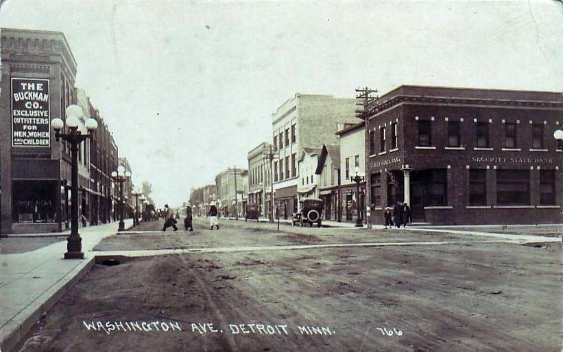 Scrapbook Becker County History Page Ten