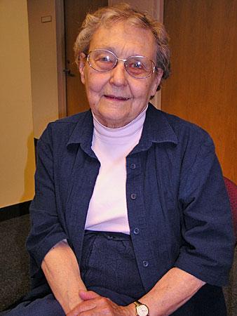 Historian Rhoda Gilman