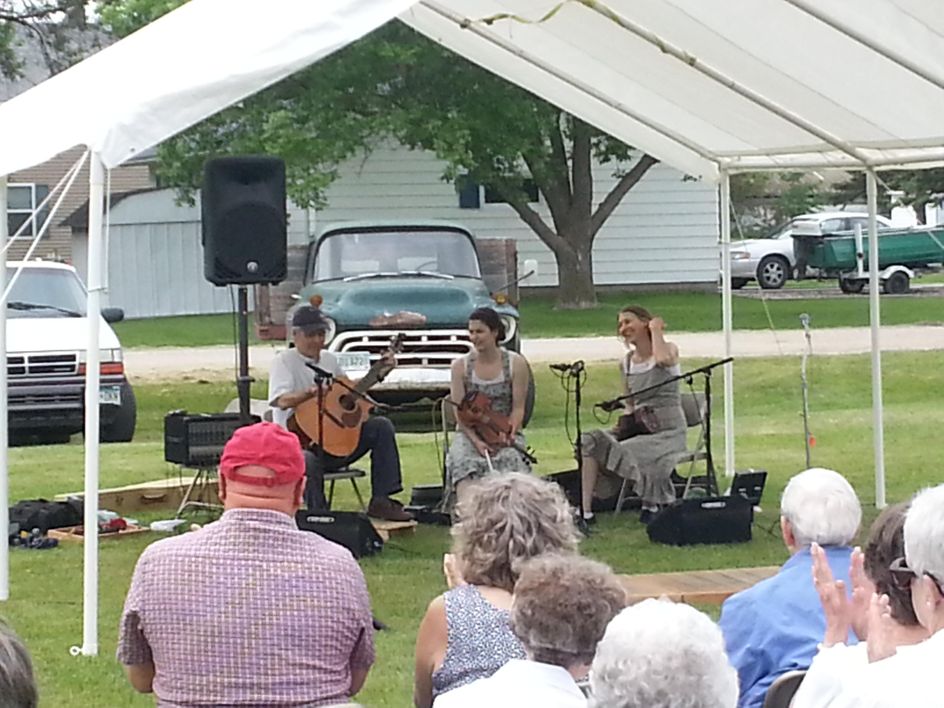 O'Neil Family Band Bring Folk Music and Multi Ethnic Dance To Lake Bronson