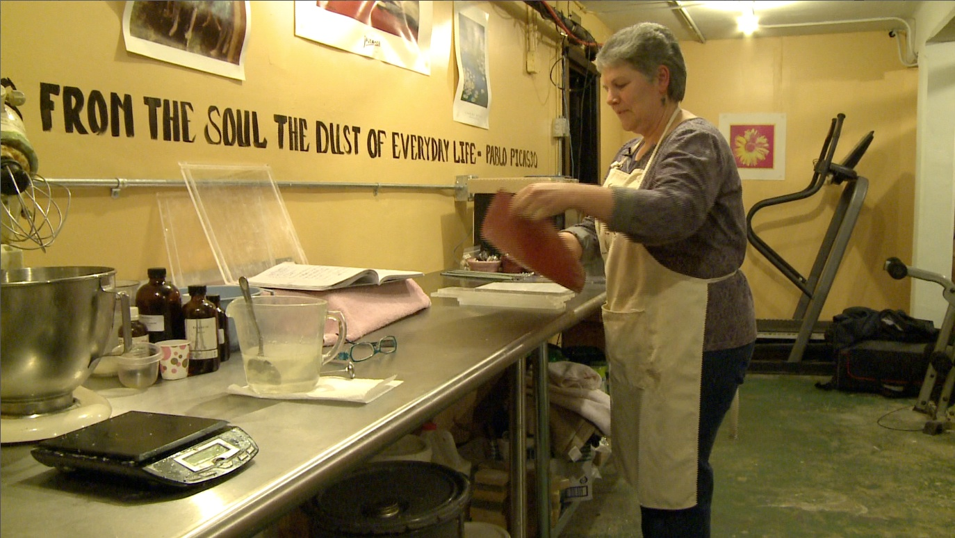 The Art of Soapmaking with Penny Kroplidlowski