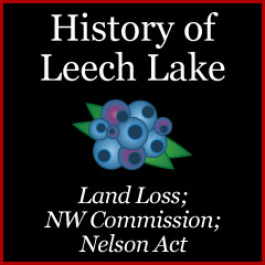 Nelson Act of 1889 at Cass Lake Reservation and Land Flooding From Dams