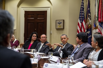 Minnesota Native News: President Obama Meets with Tribal Leaders, UCare Teams up with AMPERS to Prevent Diabetes, and Feeding the Homeless on Thanksgiving.