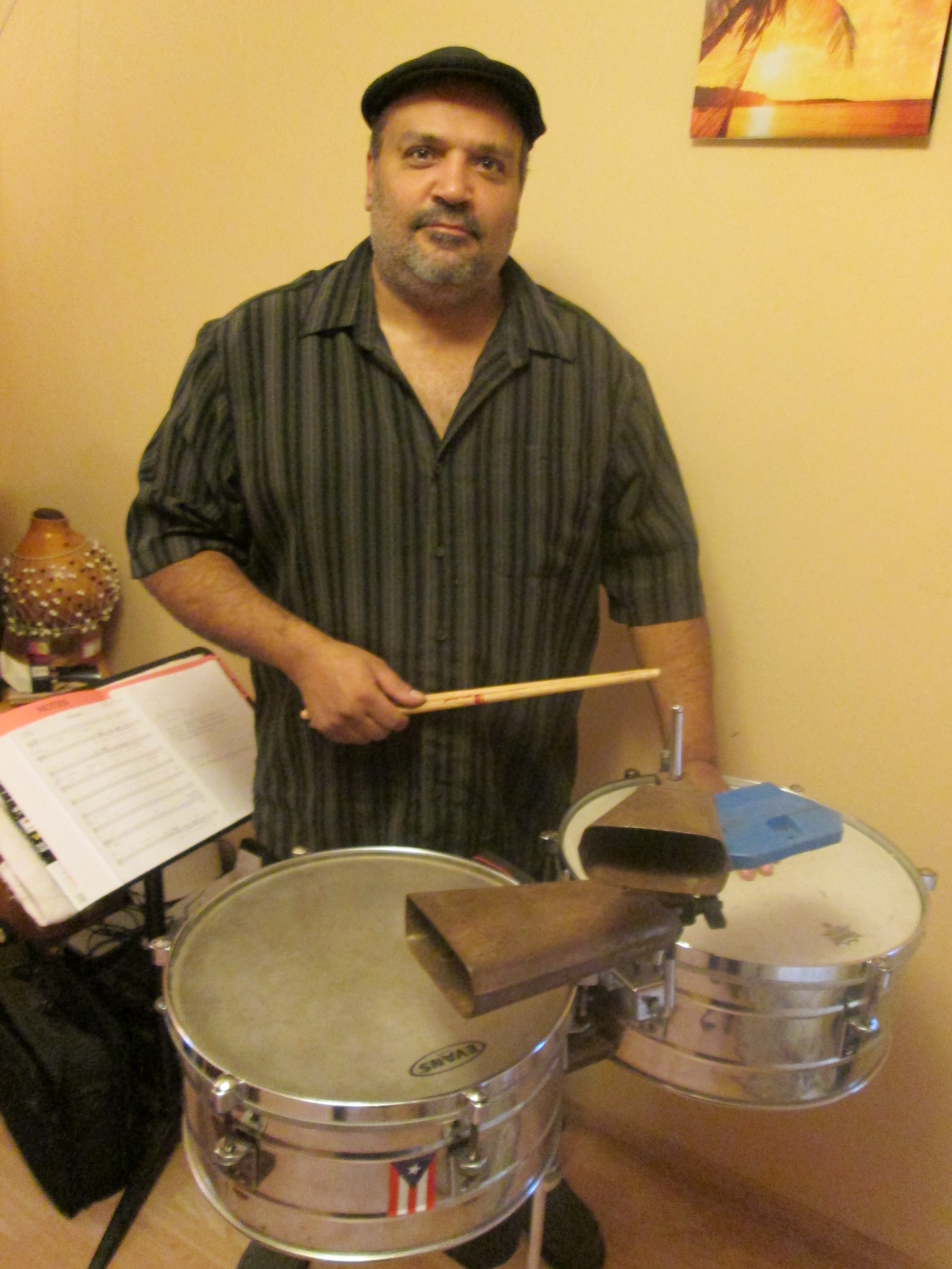 JazzMN with a tribute concert to Latin Jazz master Tito Puente. Piece for Nov 4-7, 2013.
