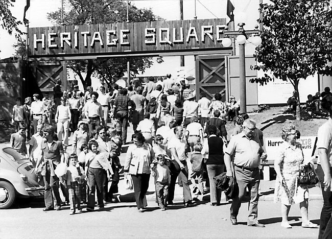 Heritage Square is getting a makeover