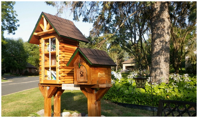 LIttle Free Library: Sharing books & building community