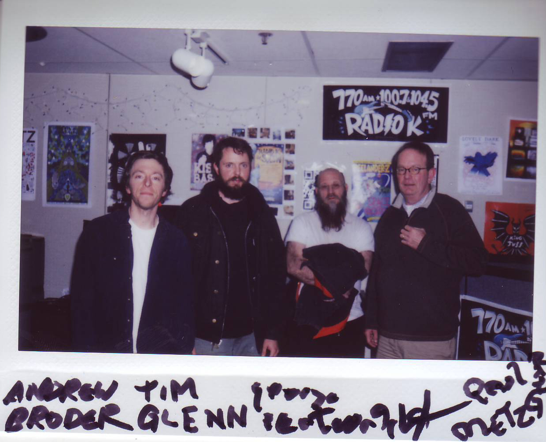 George Cartwright, Paul Metzger, Tim Glenn and Andrew Broder