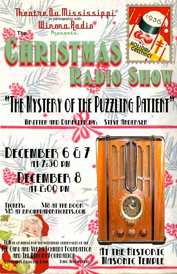 The Winona Christmas Radio Show: The Mystery of The Puzzling Patient