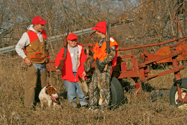 Youth hunting and firearm safety