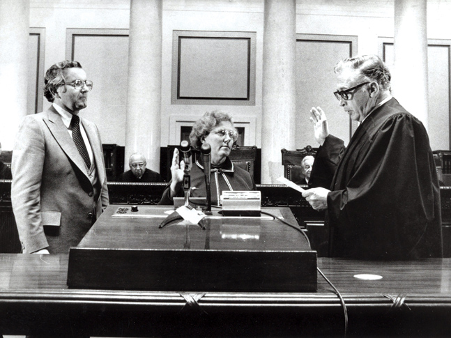 Rosalie Wahl: Minnesota's first female Supreme Court Justice