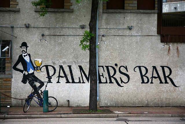 Palmer's Bar has a 100-year history