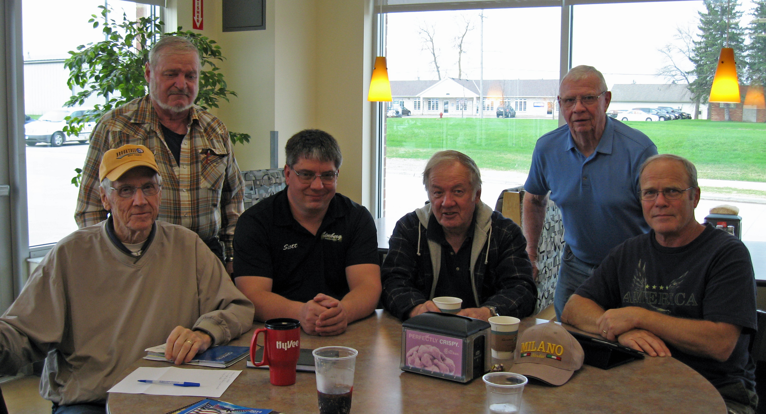 Sharing stories at the Veterans Open Round Table