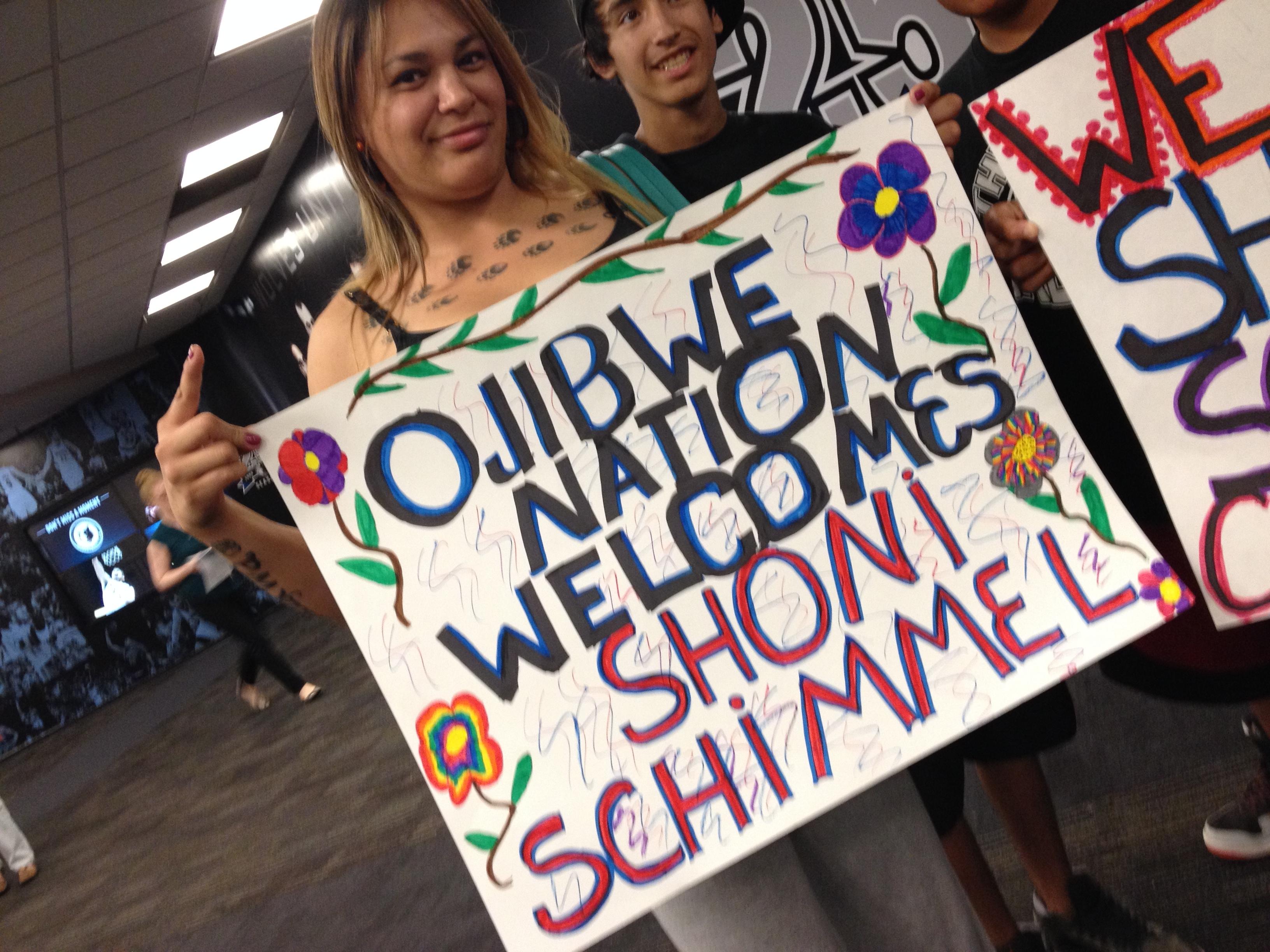 Minnesota Native News: The Schimmel Bump