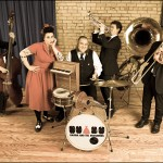 Davina and the Vagabonds bring in a Rare Hometown Show
