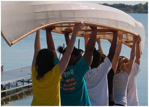 Urban Boatbuilders creates positive change in youth through building boats