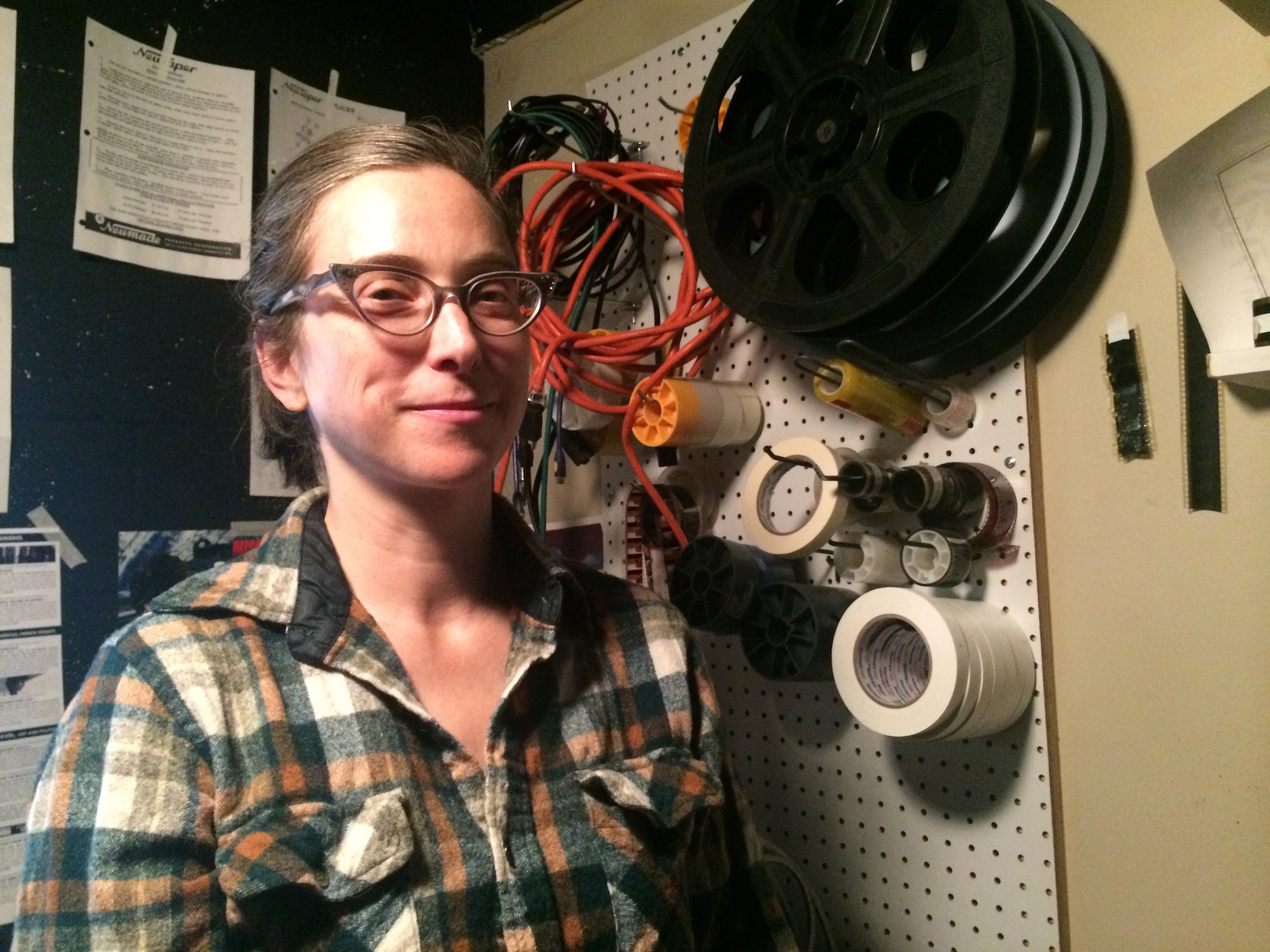 A night with the projectionist