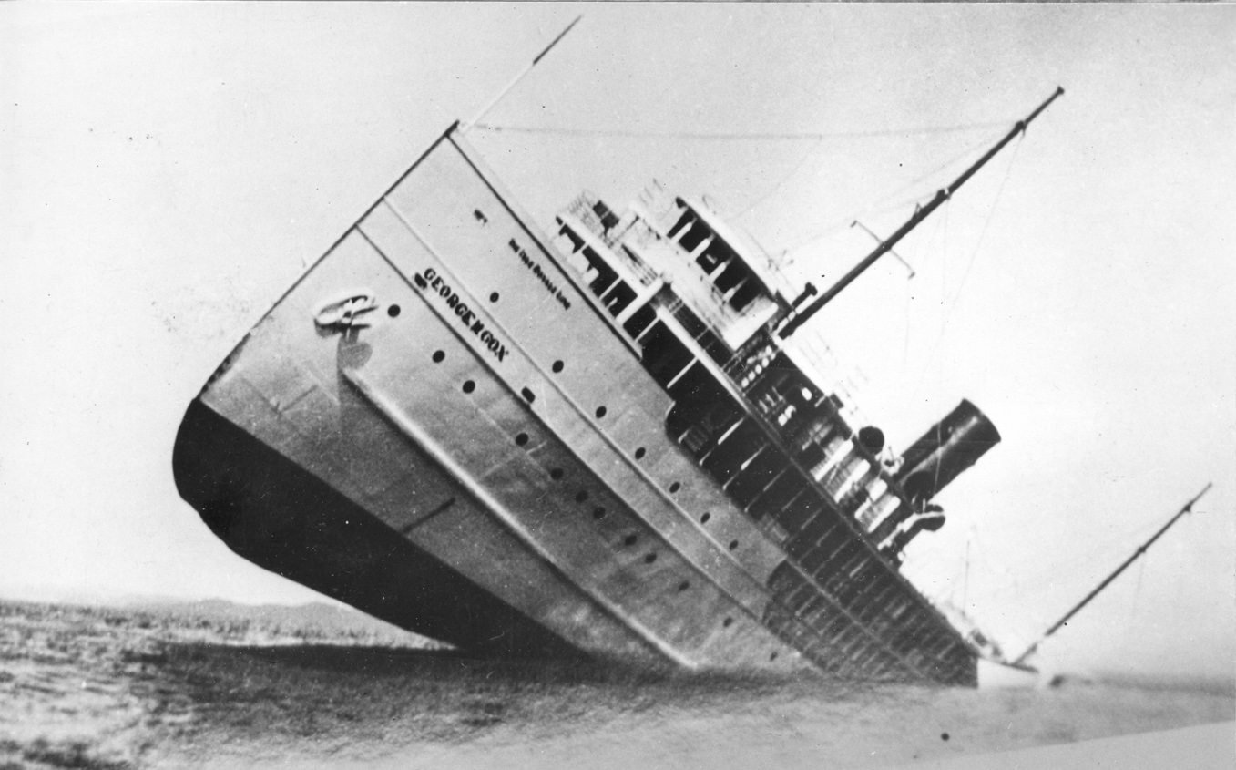 Wreck of the George M. Cox