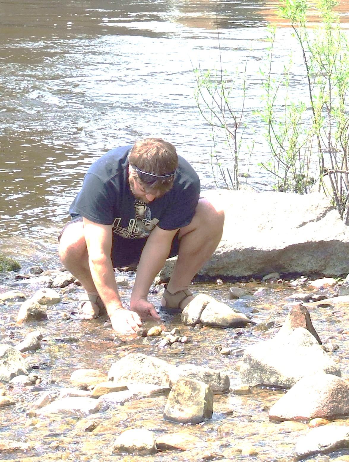 Rare Fairy Cross stones found in Little Falls