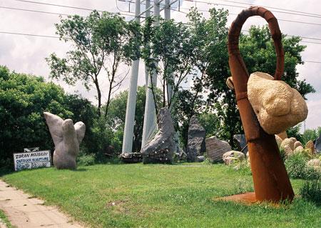 Sculptor Zoran Mojisilov