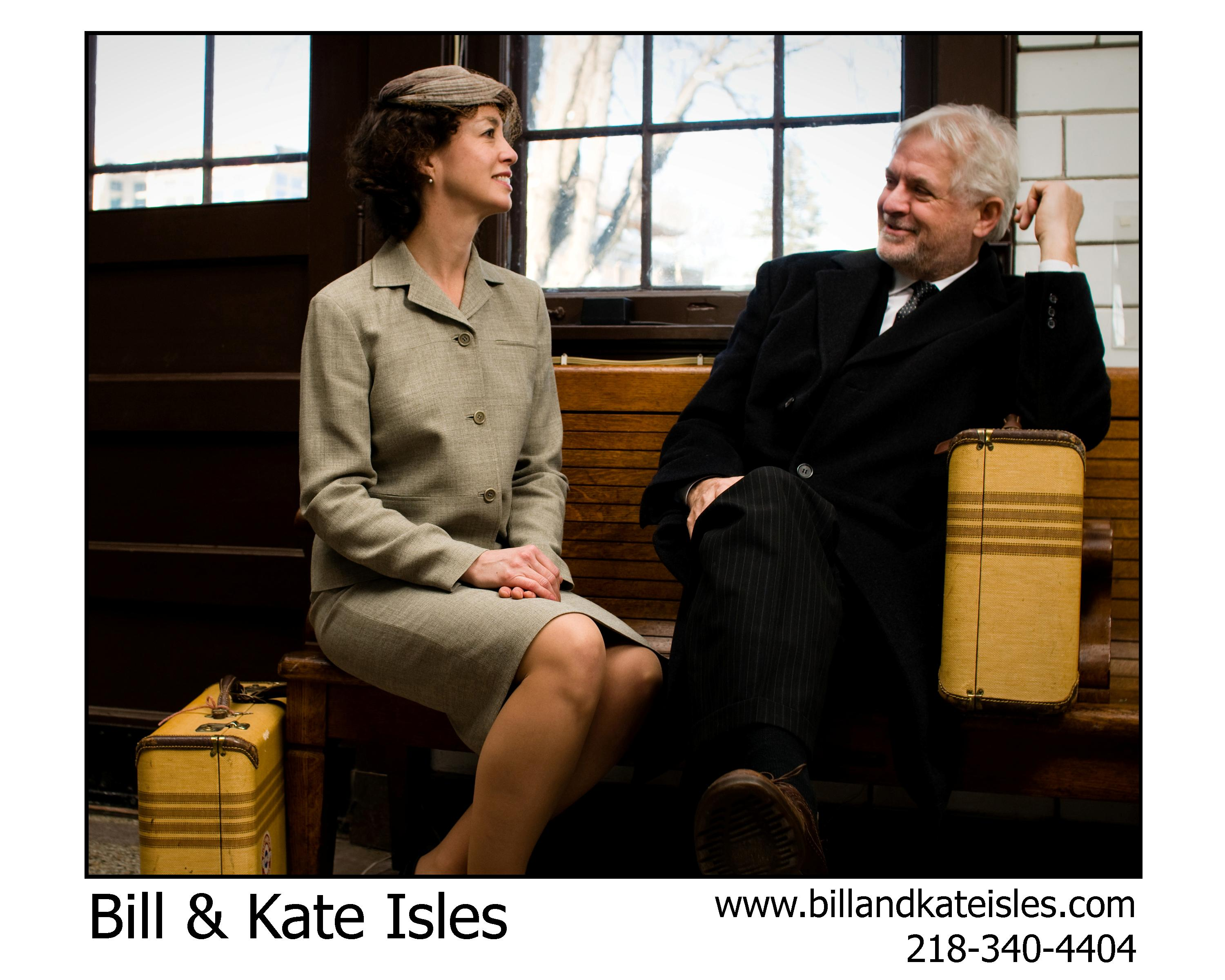 Bill and Kate Isles Start the New Year with Some Great Shows