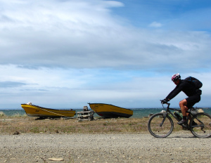 Roadhouse host Buck Benson returns from biking Andes Trail from equator to tip of South America